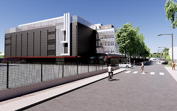 Data Centre – Paris PA12