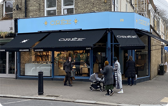 OREE Bakery, Fulham & Kings Road, London